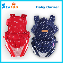 2015 NEW Hot Selling Fashion Ergonomic Baby Carrier Infant Sling Carrier 0-24m