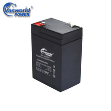 Rechargeable 20Hr Sealed Lead Acid Battery 6V 4Ah For Toy Car
