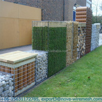 Simple installation welded gabions ( no special technology needed)