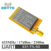 E31-TTL-50 2.1km 50mW AX5043 433MHz low cost rf transmitter and receiver