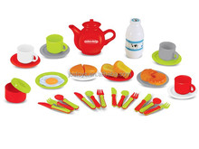 Plastic food toy set kitchen tableware set kids kitchen play set TJ14120099
