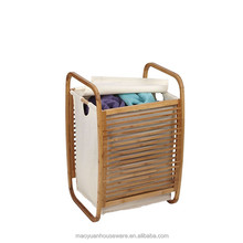 myhouseware Hot Sell Bamboo laundry basket