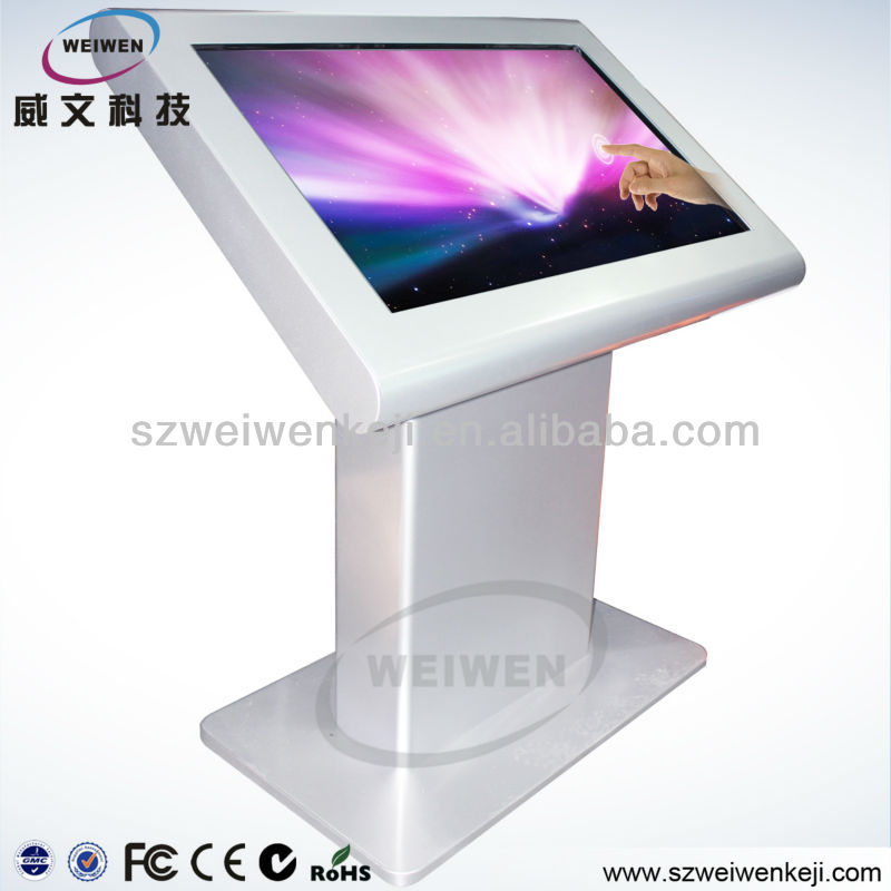 HOT! 46'' Free-stand Touch Screen Kiosk Advertising Player,Multi-media Player