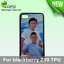 TPU material sublimation phone case for Blackberry Z10