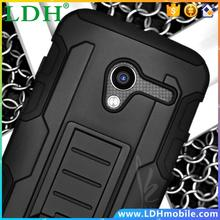 500pcs/lot Defender Holster Heavy Duty Future Combo Armor Impact Hybrid Stand Case For Moto Droid Razr XT910 912 Cover