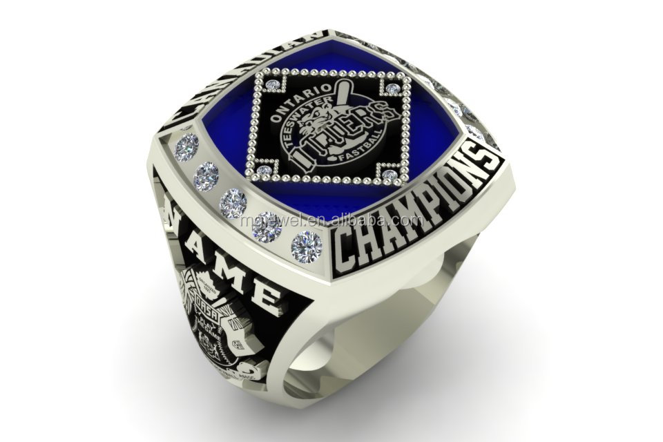 custom cheap youth baseball chionship ring award rings