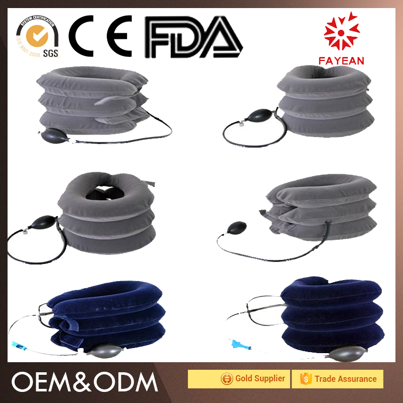 Competitive Price Wholesale Orthopedic Neck Traction Belt Traction Equipment 3 Layers Lumbar Air Traction Belt