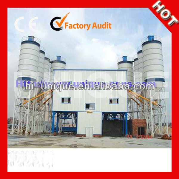 Best HZS120 Ready Mixed Concrete Batching Plant For Sale