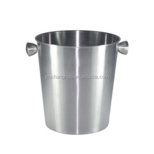 Stainless Steel Single Wall Ice Bucket