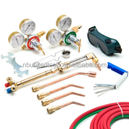 UWELD Gas Welding & Cutting Kit Oxygen Torch Acetylene Welder Tool Set