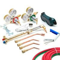 UWELD Gas Welding & Cutting Kit Oxygen Torch Acetylene Welder Tool Set