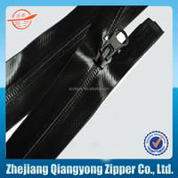 #5 #10 waterproof zipper pvc waterproof nylon zipper