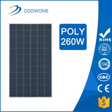Hot Seller High Efficiency A Grade Poly 250W 255W 260W sunpower Solar Panel with Inmetro Certification