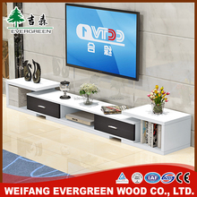 Latest Good Price White Lacquer Tv Stand