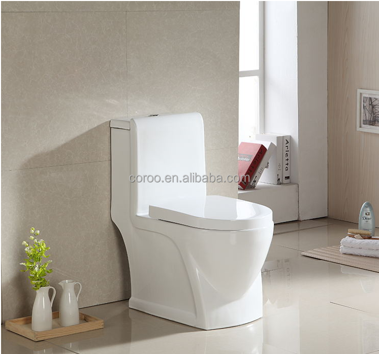8008W italian sanitary ware one picec women toilet with seat cover for wc