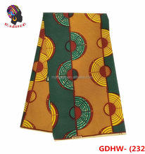 GDHW-232 Chinese products wholesale african 100% cotton wax quality wax printing fabric