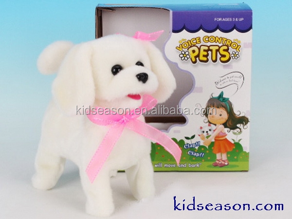 ELECTRONIC SOUNDS CONTROL PLUSH DOG WITH ACTION
