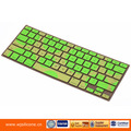Excellent quality custom silicone blutooth keyboard for ipad with different color
