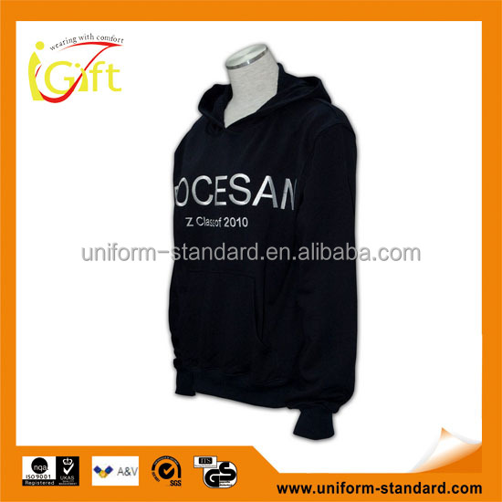 BSCI 2016 design sublimation screenprint embroidery zipper hoody unique collar design hoodies