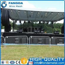 Factory Direct Heavy Duty Alibaba Concert Crowd Control Galvanized Pedestrian Barriers Panel