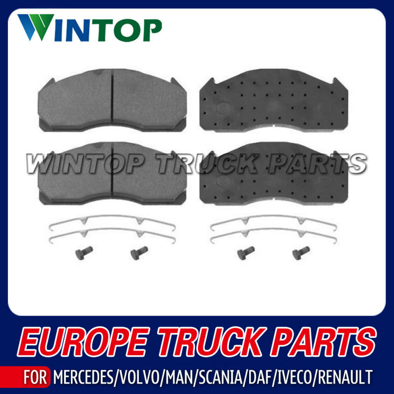 Truck Brake Pad Kit 0004211010 0004211210 003420722029115 WVA29115 for Mercedes Benz