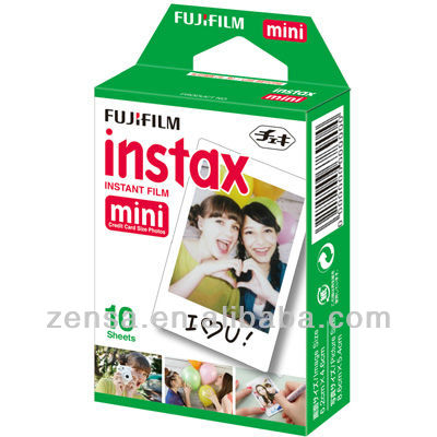 Fuji Fujifilm Instax Mini White Film 7s 8 25 50s 90 SP-1 Polaroid 300 Camera