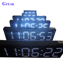 seven segment 6 digit led countdown timer