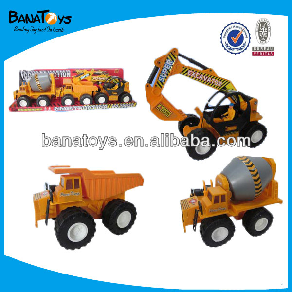Friction transport truck toys