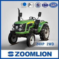 ZOOMLION High Quality 24HP 2WD RX240 mini Farm Tractor
