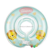 Customized new style summer pvc inflatable baby swimming neck ring