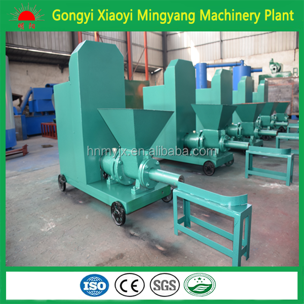 Best plant quality specialize in energy saving machine biomass/sawdust / wood charcoal briquette making machine 008615039052280