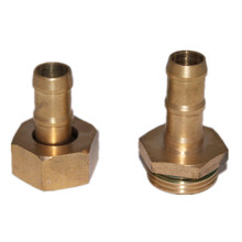 hydraulic hose brass pipe connect nipple fitting