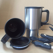 Zhejiang Best selling Newest heating and cooling car mug ,12V electric heat travel mug car