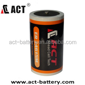 China factory price Lithium Thionyl Chloride 3.6v 19ah Er34615 Er34615m Li-ion battery