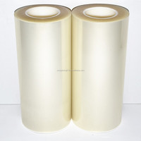 Ultra clear plastic film, top quality PET protective film for polycarbonate sheet