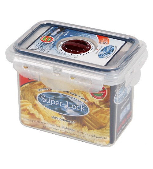 Super Lock Date Reminder plastic food storage container with date indicator #6024000MCB0100
