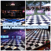 cheap led dance floor 180*25*75mm acrylic, high quality cheap led dance floor