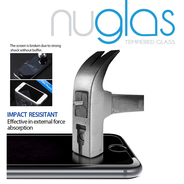 Nuglas Premium 9h milo tempered glass screen protector skin cover for iPhone 6s with moq 50pcs 2-3 days delivery