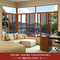 3 track aluminum frame glass sliding window price philippines with mosquito net