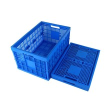 Foldable packing plastic glass crates