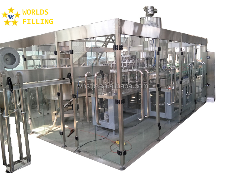 High quality small juice fruit filling machine in china
