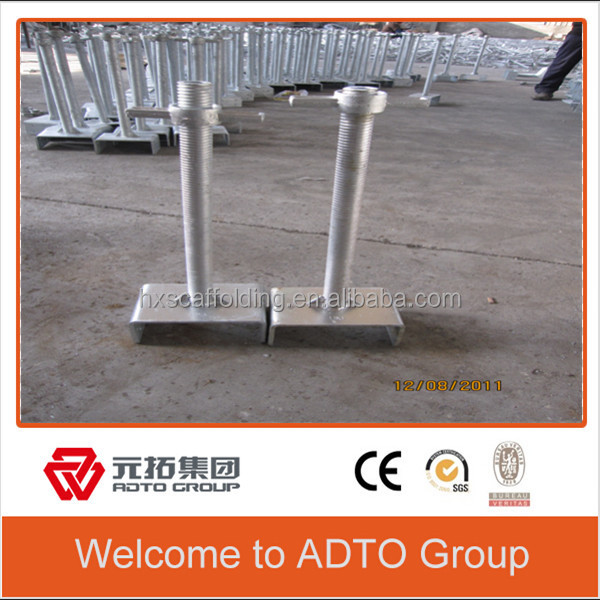 Scaffolding Level Jack Screw Jack for construction supporting in Ghana