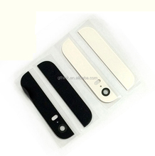 For iPhone 5s Mobile phone Back Top and Bottom Glass Cover