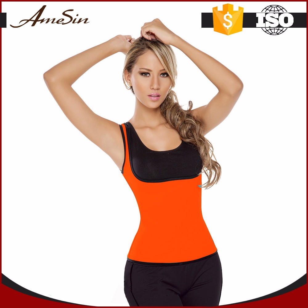 AMESIN latest style high quality unique popular ladies sports gym wear neoprene wholesale fitness clothing