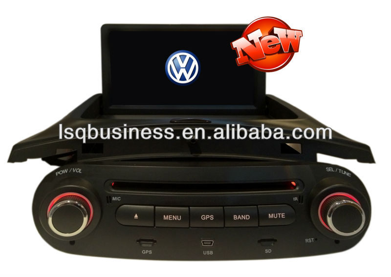 Hot selling! Car mp4 player for VW Beetle with GPS/USB/steering wheel control,ST-7028I