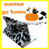 Milk Cattle Pattern 360 degree Rotating Case for iPad mini Leather Magnetic Stand 2013 Hot Selling