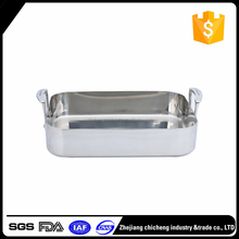 New arrival hot selling 201 stainless steel roasting pan price