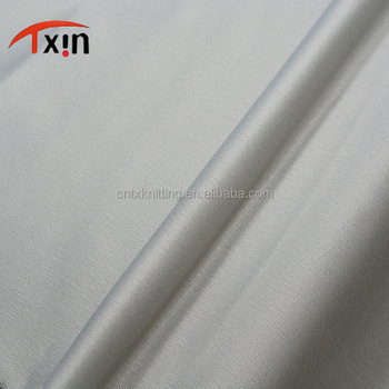 manufacture shrink resistant silk flannelette polyester brushed fabric for undergarment