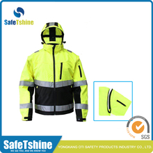 Factory supply attractive price safety reflective softshell jackets