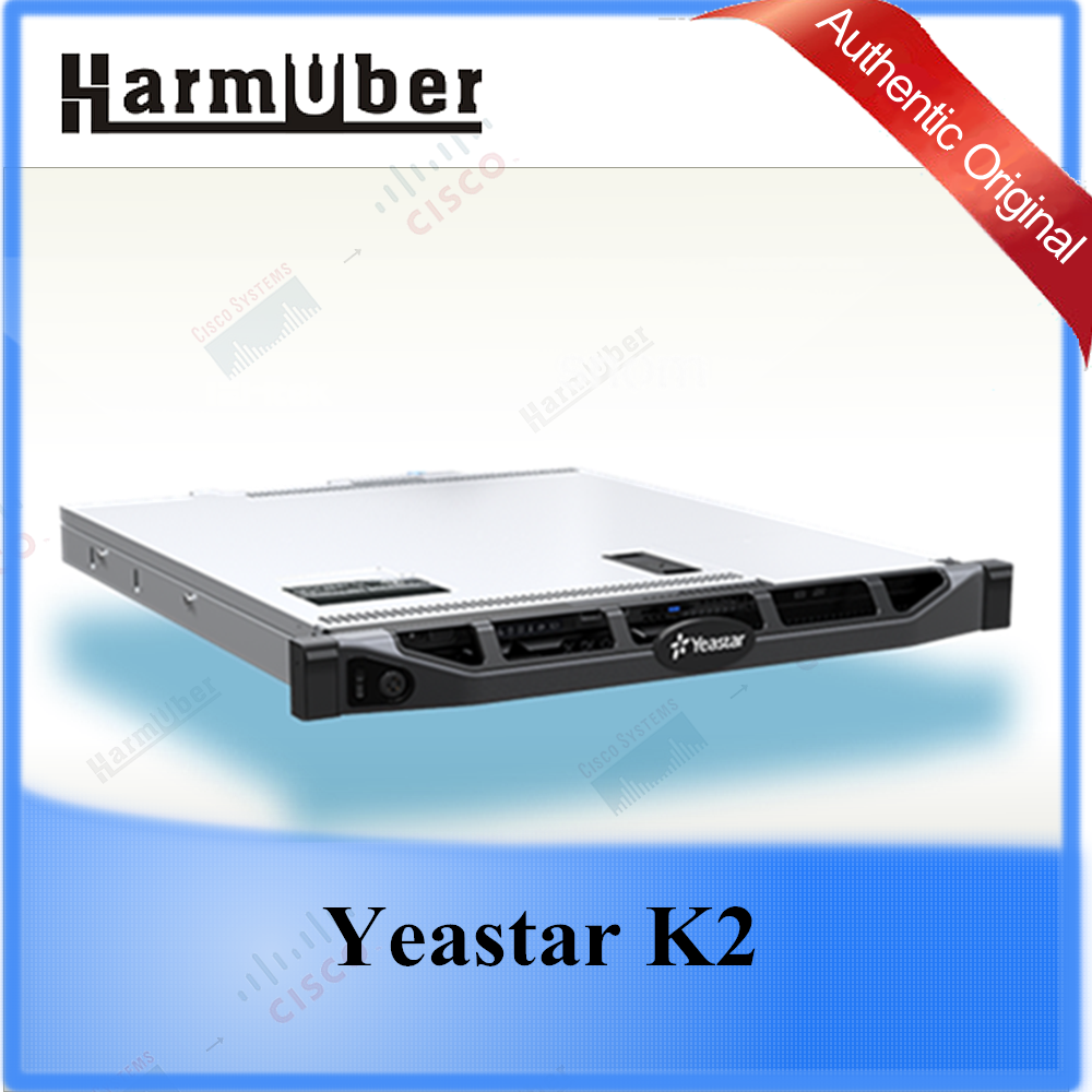 Yeastar K2 IP PBX For Medium and Large Enterprises and Supports 2000 Users and 500 Concurrent Calls IP Telephone System